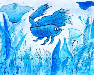 Blue Fish watermark