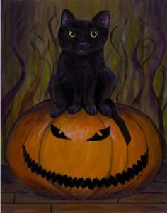 Halloween Cat, condensed