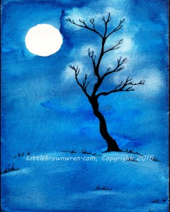 Nighttime Tree 6, watermark (1)
